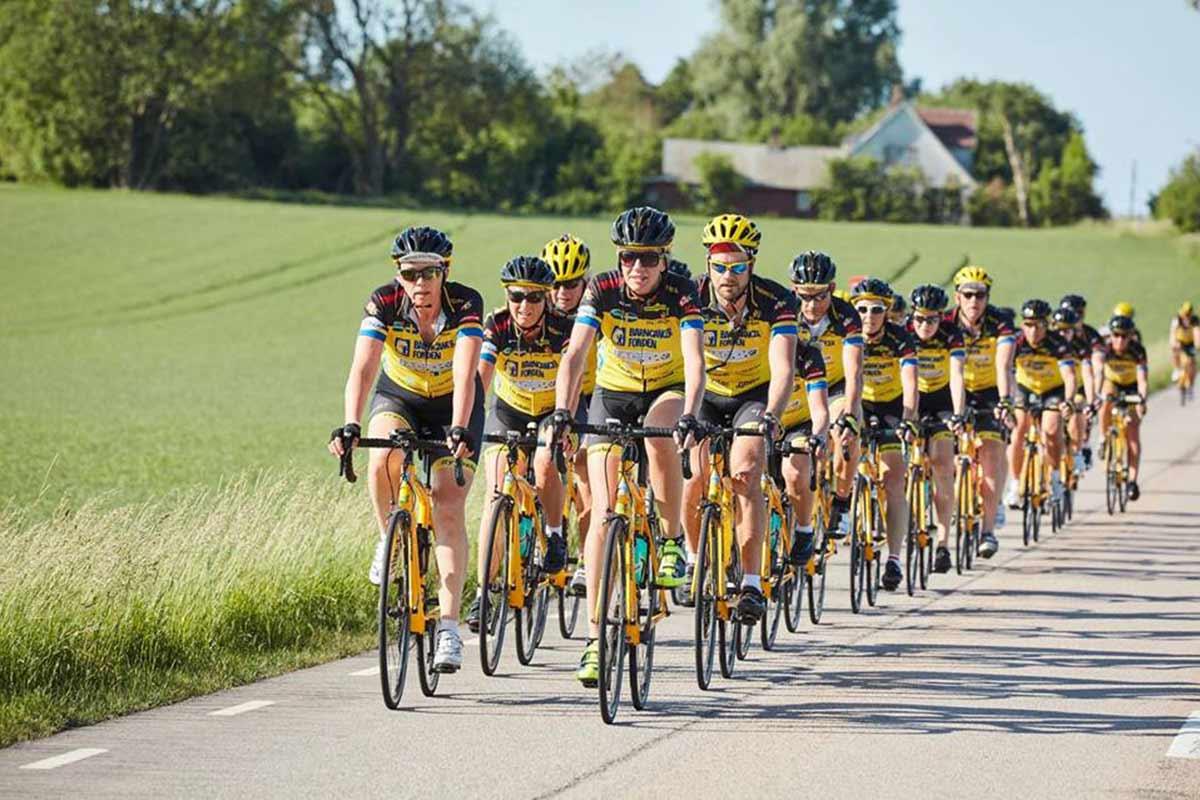 Kålltorps Bygg sponsrar Team Rynkeby