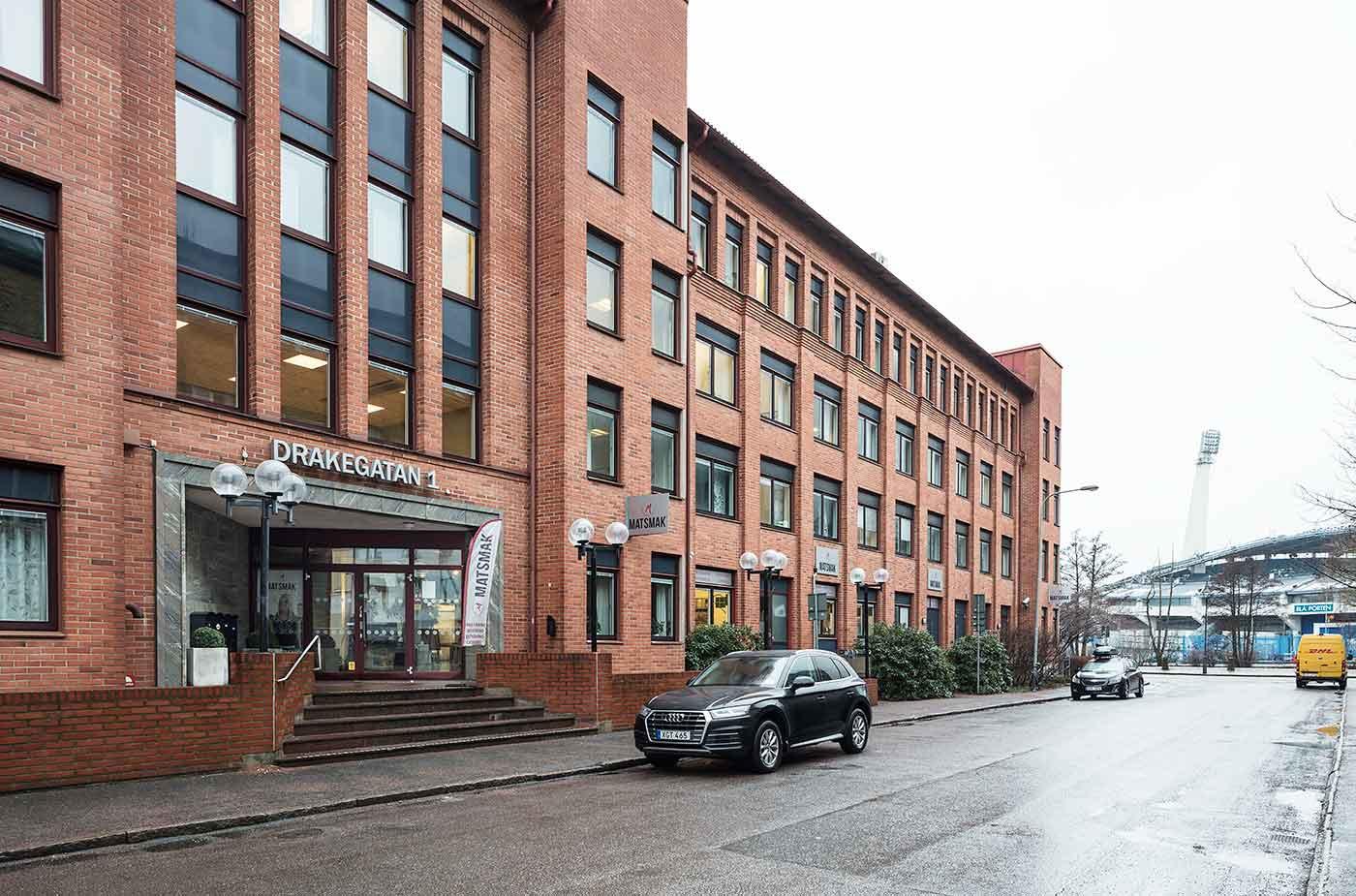 Newsec, Drakegatan – Renovering